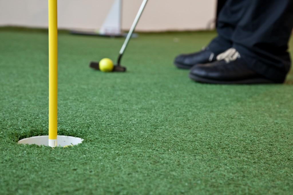 Golf Schläger Test