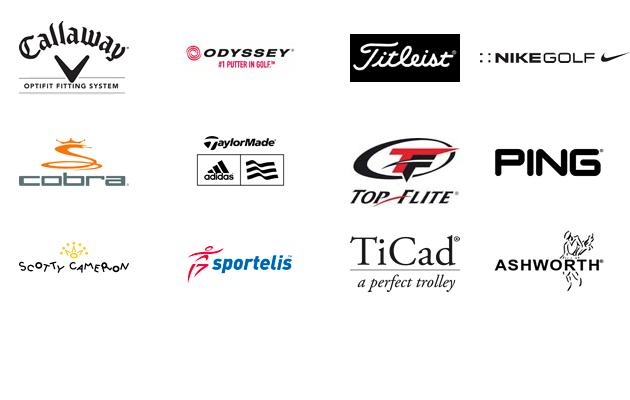 Golf Logos Marken Hersteller