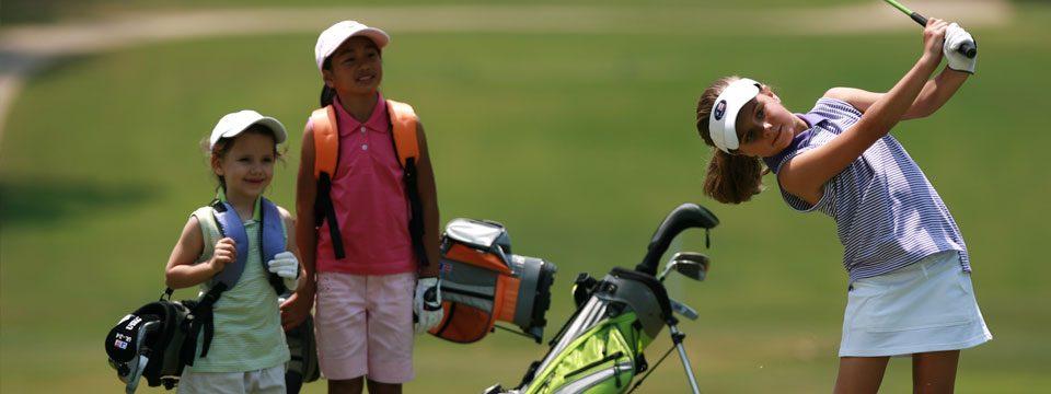 Juniorgolf - Vermietung von mitwachsenden Golfsets für Kinder und Jugendliche
