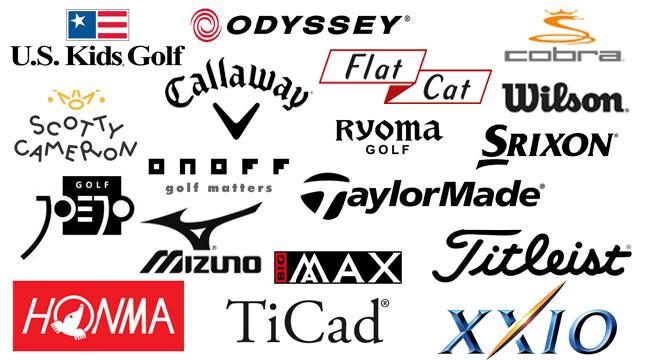 Unsere Golf-Hardware-Marken in Shop: U.S. Kids Golf, odyssey, cobra, wilson, flat cat, scott cameron, callaway, ryoma golf, wilson, srixon, joejo, onoff, taylormade, mizuno, big max, titleist, honma, ticad, xxio
